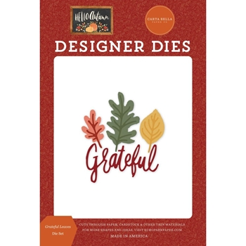 Carta Bella GRATEFUL LEAVES Dies Set cbhea122040