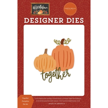 Carta Bella TOGETHER PUMPKINS Dies Set cbhea122041