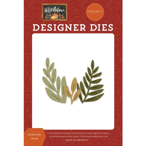 Carta Bella FALL BRANCHES Dies Set cbhea122043 Preview Image