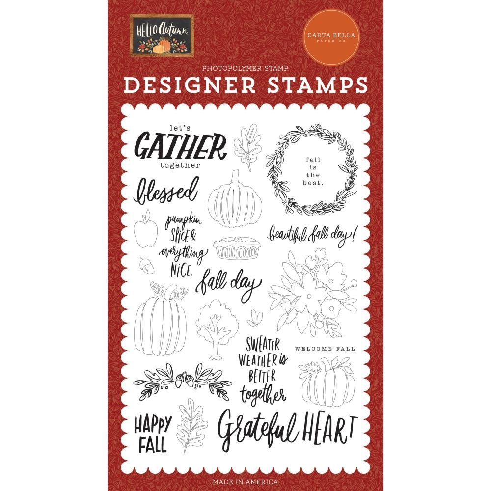 Carta Bella FALL DAY Clear Stamps cbhea122045 zoom image