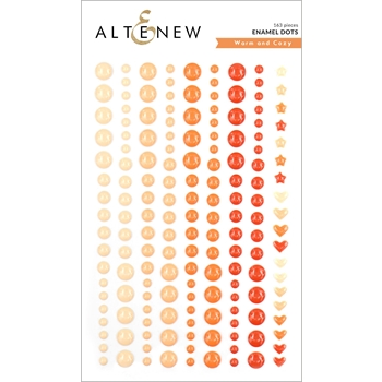 Altenew WARM AND COZY Enamel Dots ALT3749