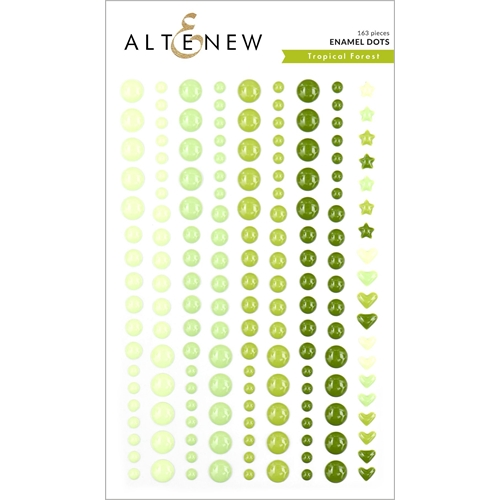Altenew TROPICAL FOREST Enamel Dots ALT3748 Preview Image