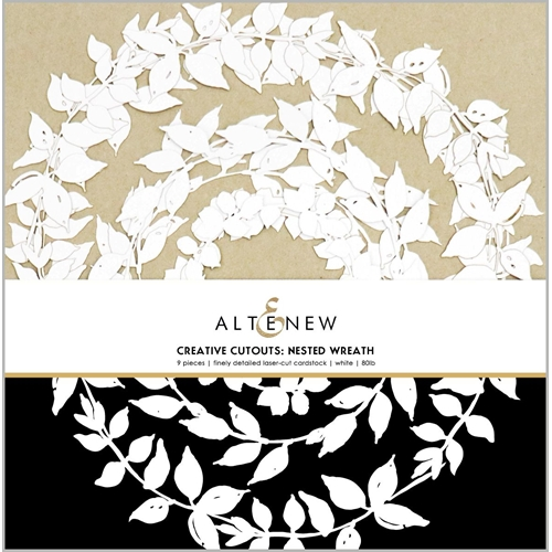 Altenew CREATIVE CUT OUTS NESTED WREATH ALT3800 Preview Image
