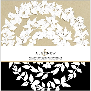 Altenew CREATIVE CUT OUTS NESTED WREATH ALT3800