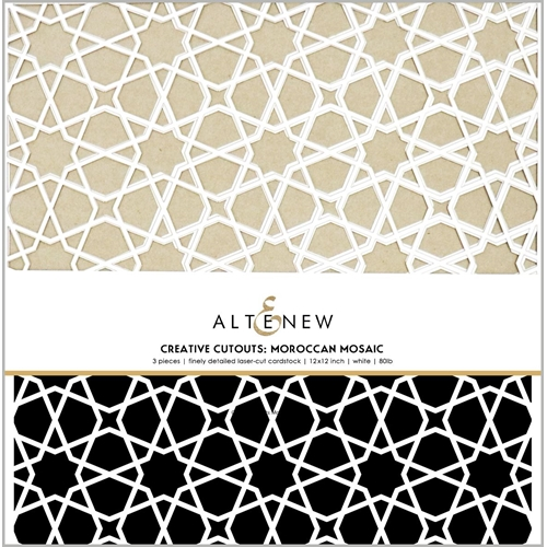 Altenew CREATIVE CUT OUTS MOROCCAN MOSAIC ALT3799 Preview Image
