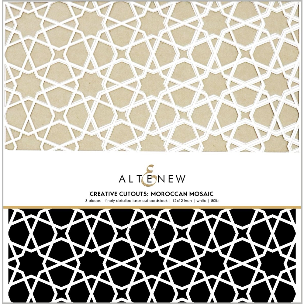 Altenew CREATIVE CUT OUTS MOROCCAN MOSAIC ALT3799 zoom image