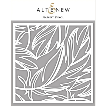 Altenew FEATHERY Stencil ALT4236