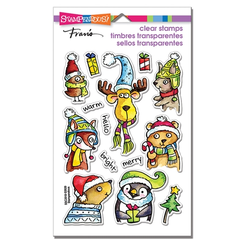 Stampendous Clear Stamps WINTER PALS ssc2019* Preview Image