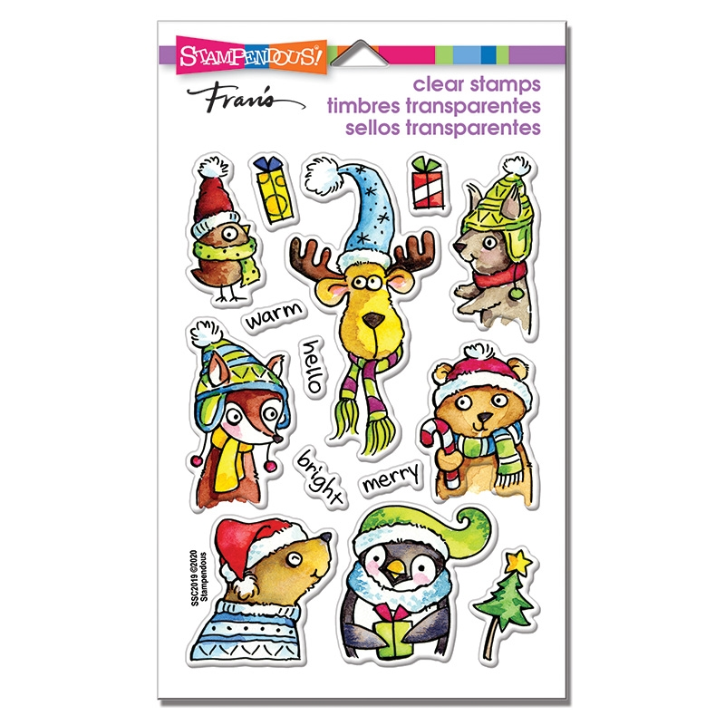 Stampendous Clear Stamps WINTER PALS ssc2019* zoom image