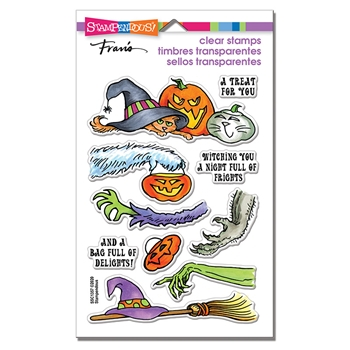 Stampendous Clear Stamps FRIGHTFUL GIFTS ssc1357*
