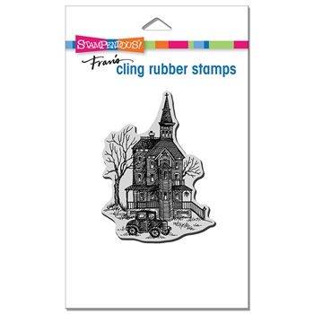 Stampendous Cling Stamp VINTAGE VICTORIAN crp358*