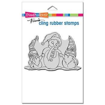 Stampendous Cling Stamp SNOME BUDDIES crp362