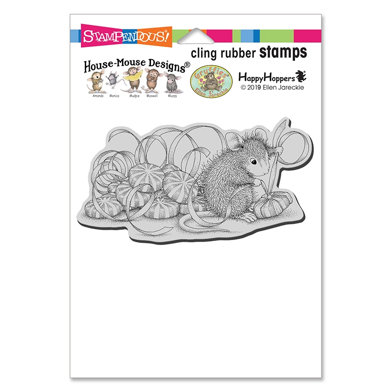 Stampendous: House Mouse Mint Gifts Cling Stamp