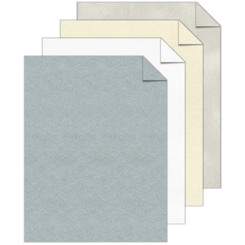 Neenah ASTROBRIGHTS 8.5 x 11 Inch Metallic Cardstock Assortment 91519 Preview Image