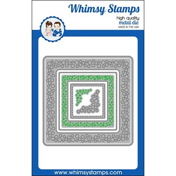 Whimsy Stamps INLAID BUBBLES Dies WSD474