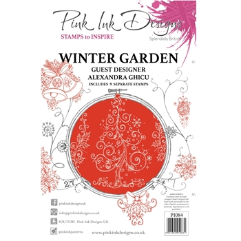 Pink Ink Designs WINTER GARDEN A5 Clear Stamps pi084