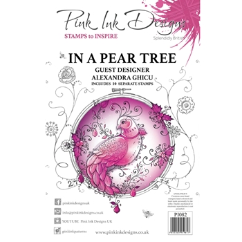 Pink Ink Designs IN A PEAR TREE A5 Clear Stamps pi082