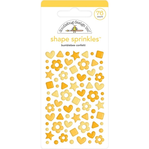 Doodlebug BUMBLEBEE CONFETTI Shape Sprinkles 6706 Preview Image