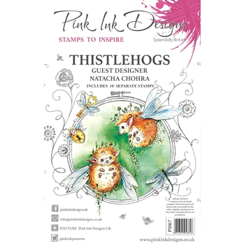 Pink Ink Designs THISTLEHOGS A5 Clear Stamps pi067