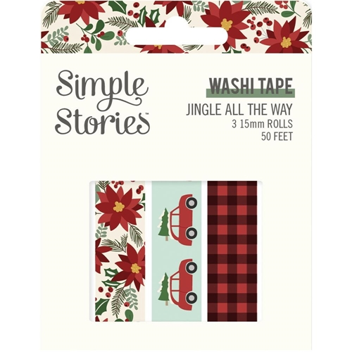 Simple Stories JINGLE ALL THE WAY Washi Tape 13725 Preview Image