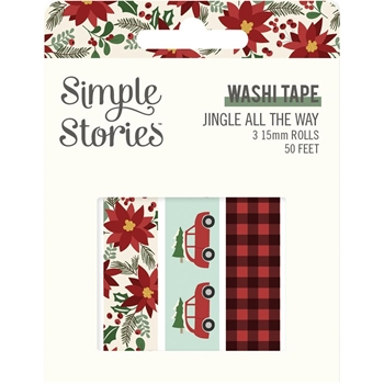 Simple Stories JINGLE ALL THE WAY Washi Tape 13725