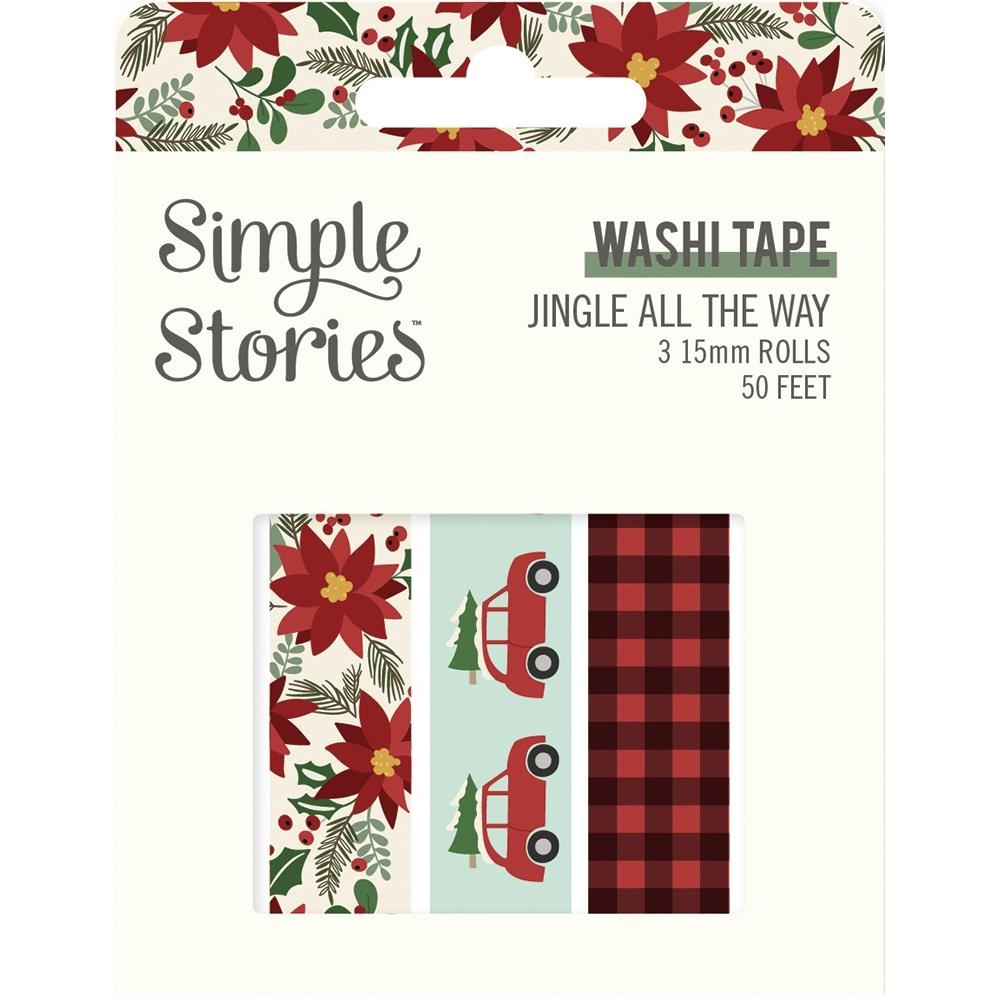 Simple Stories JINGLE ALL THE WAY Washi Tape 13725 zoom image