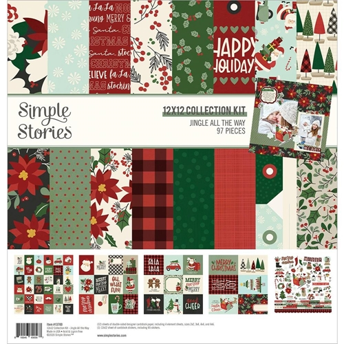 Simple Stories JINGLE ALL THE WAY 12 x 12 Collection Kit 13700 Preview Image