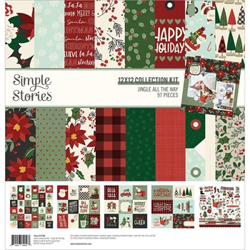 Simple Stories JINGLE ALL THE WAY 12 x 12 Collection Kit 13700