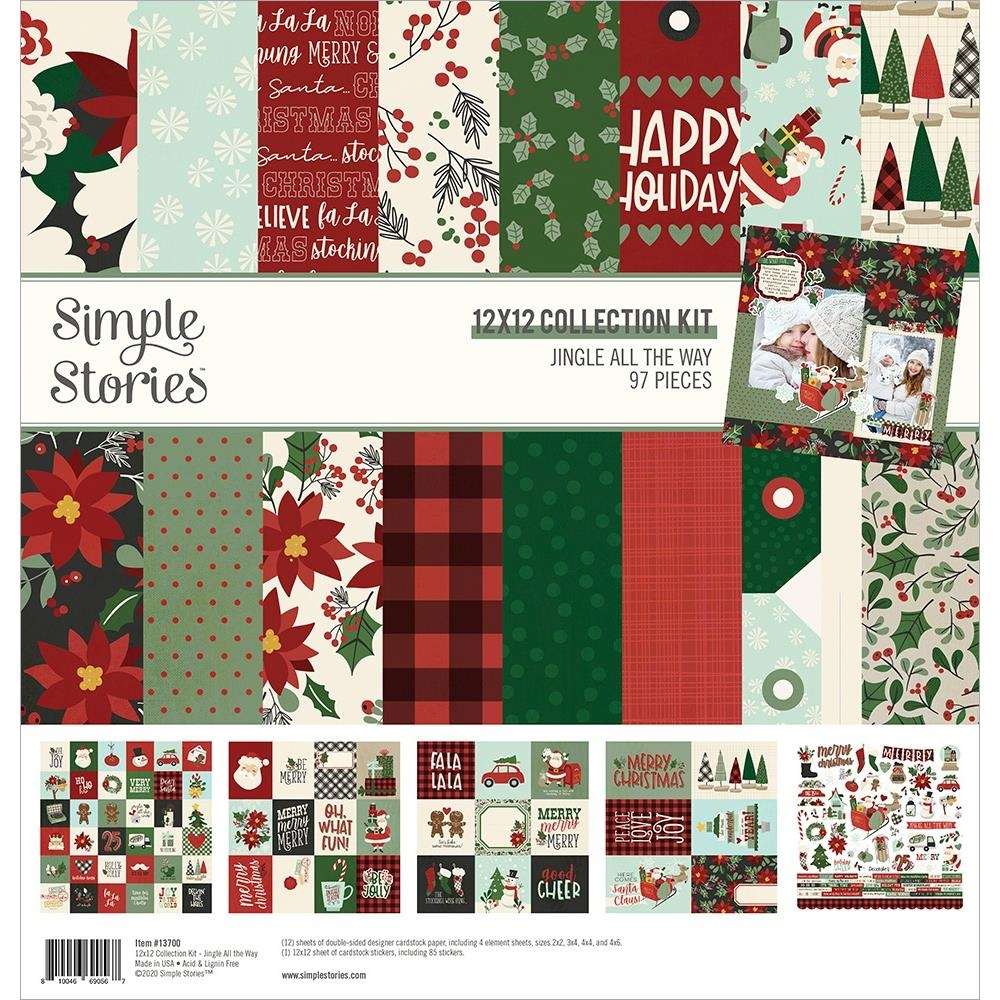 Simple Stories JINGLE ALL THE WAY 12 x 12 Collection Kit 13700 zoom image