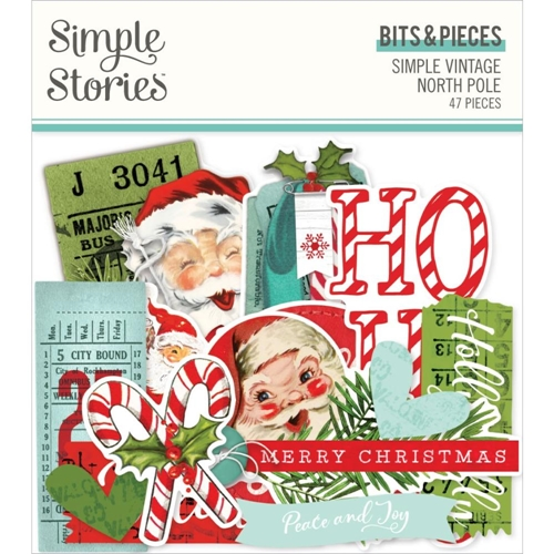 Simple Stories VINTAGE NORTH POLE Bits And Pieces 13621 Preview Image