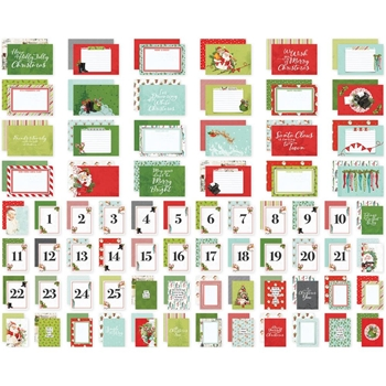 Simple Stories VINTAGE NORTH POLE Snap Cards 13625
