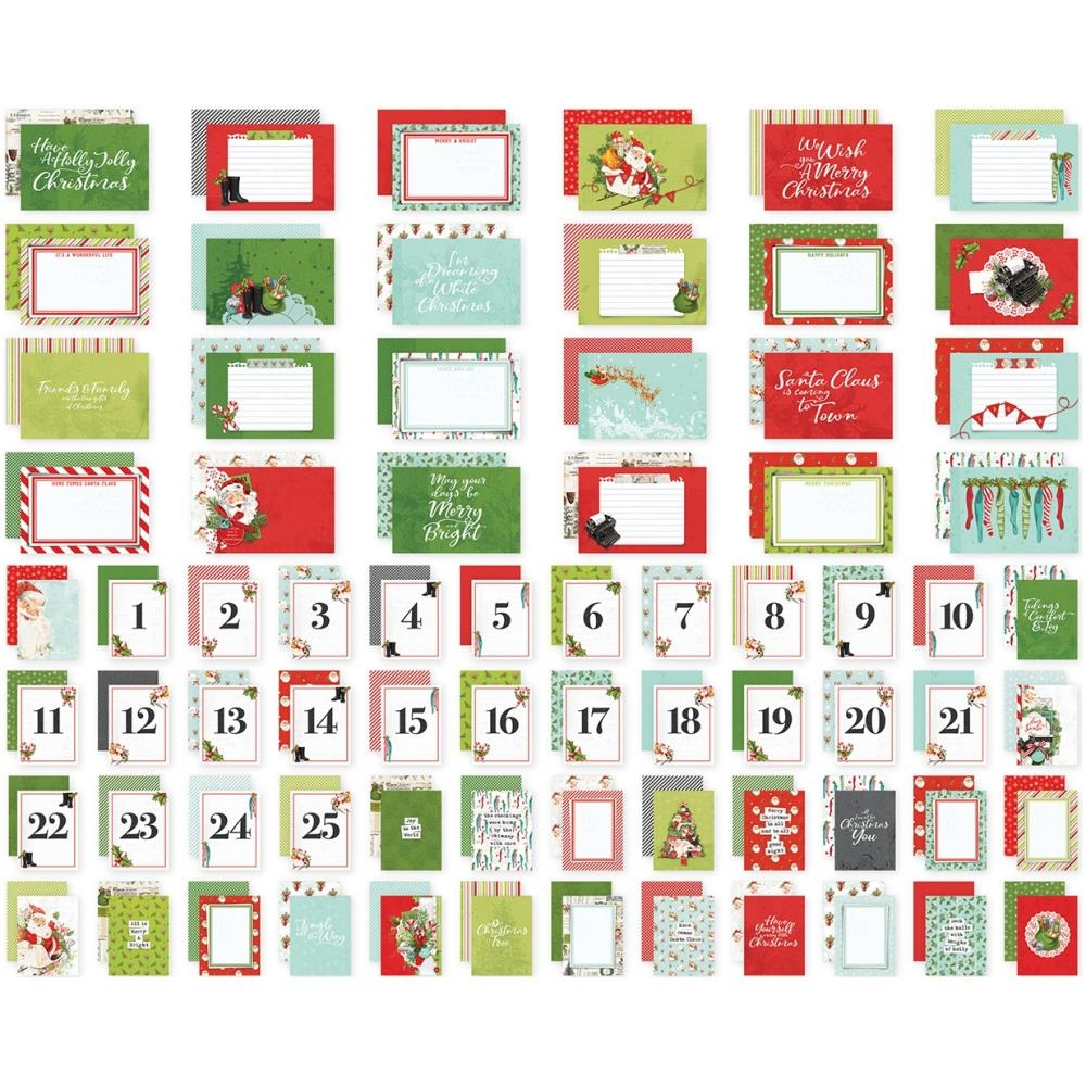 Simple Stories VINTAGE NORTH POLE Snap Cards 13625 zoom image