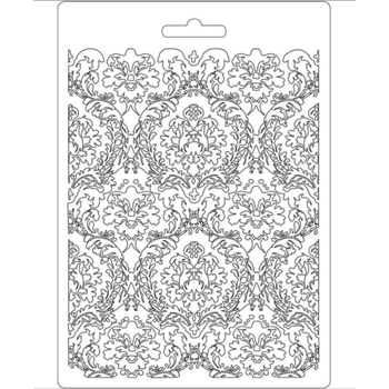 Stamperia DAMASK Texture Impression Mold k3pta554