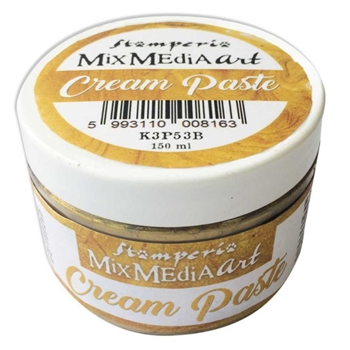 Stamperia METALLIC GOLD CREAM PASTE k3p53b