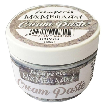 Stamperia METALLIC SILVER CREAM PASTE k3p53a