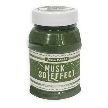 Stamperia DARK GREEN MUSK Effect k3p65