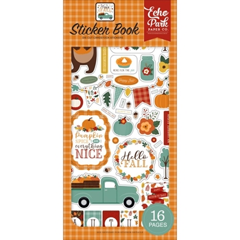 Echo Park HAPPY FALL Sticker Book hap219029