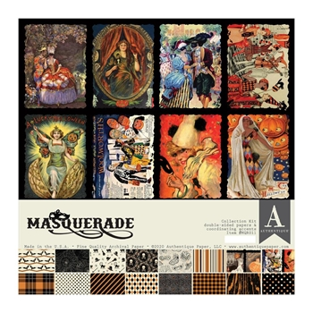 Authentique MASQUERADE 12 x 12 Collection Kit mqr011