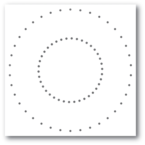 Memory Box STITCHED CIRCLE Craft Die 94404 Preview Image