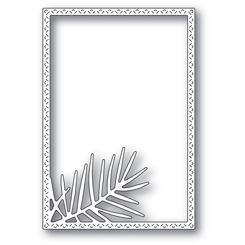 Memory Box POINTED PINE NEEDLE FRAME Craft Die 94483 Preview Image