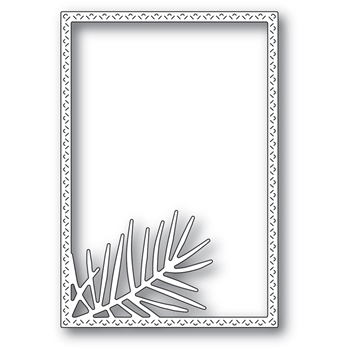 Memory Box POINTED PINE NEEDLE FRAME Craft Die 94483