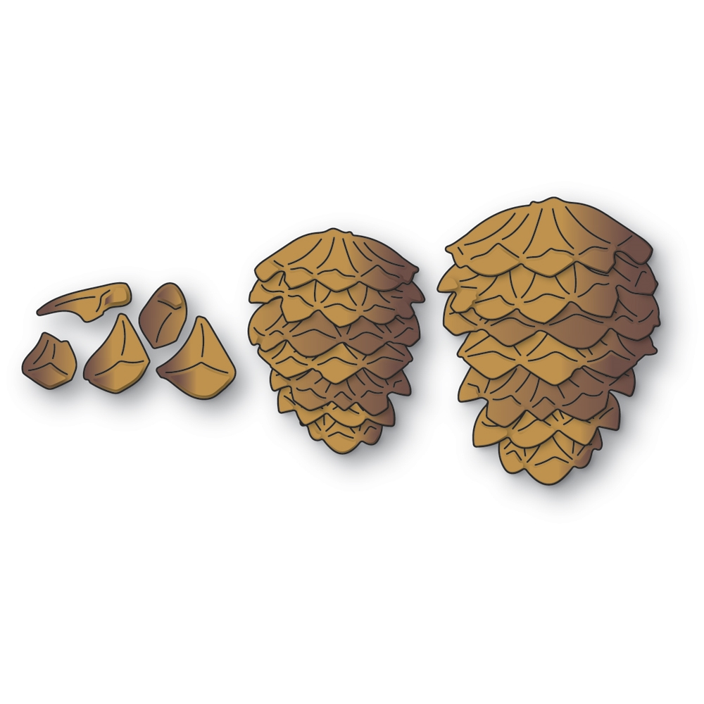 Memory Box Pinecone Stackers Dies