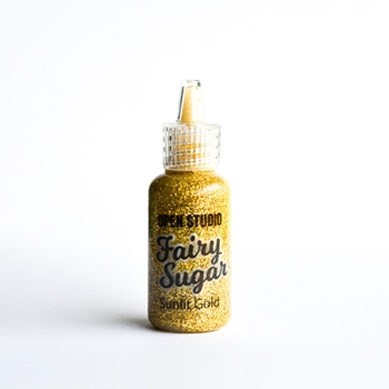 Memory Box SUNLIT GOLD Fairy Sugar Glitter Glue 40127