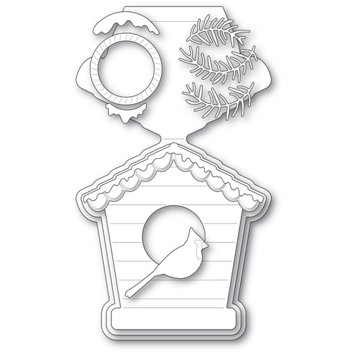 Poppy Stamps BIRD HOUSE POP UP EASEL SET Craft Dies 2396 Preview Image