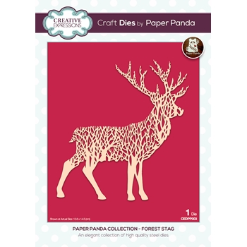 Creative Expressions FOREST STAG Deer Craft Die cedpp003*