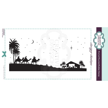 Creative Expressions FOLLOW THE STAR Cling Stamp umsdb016