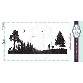 Creative Expressions MOONLIT GATHERING Cling Stamp umsdb018