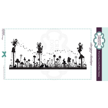 Creative Expressions A SPRINKLE OF MAGIC Cling Stamp umsdb019