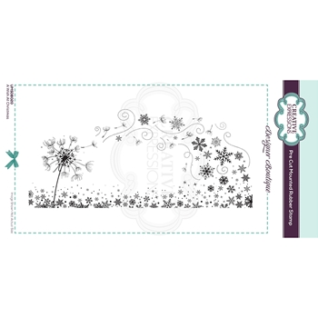 Creative Expressions A WISH AT CHRISTMAS Cling Stamp umsdb020