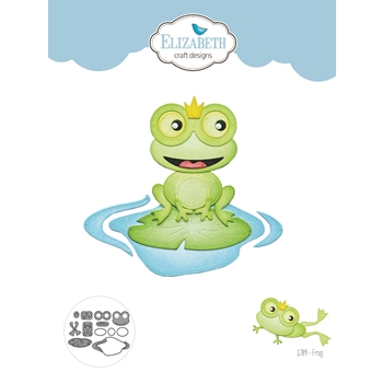 Elizabeth Craft Designs FROG Craft Dies 1789*